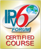 Logo IPv6 Forum: Certified Course
