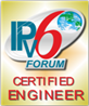 Logo IPv6 Forum: Certified Engineer