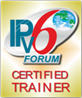 Logo IPv6 Forum: Certified Trainer